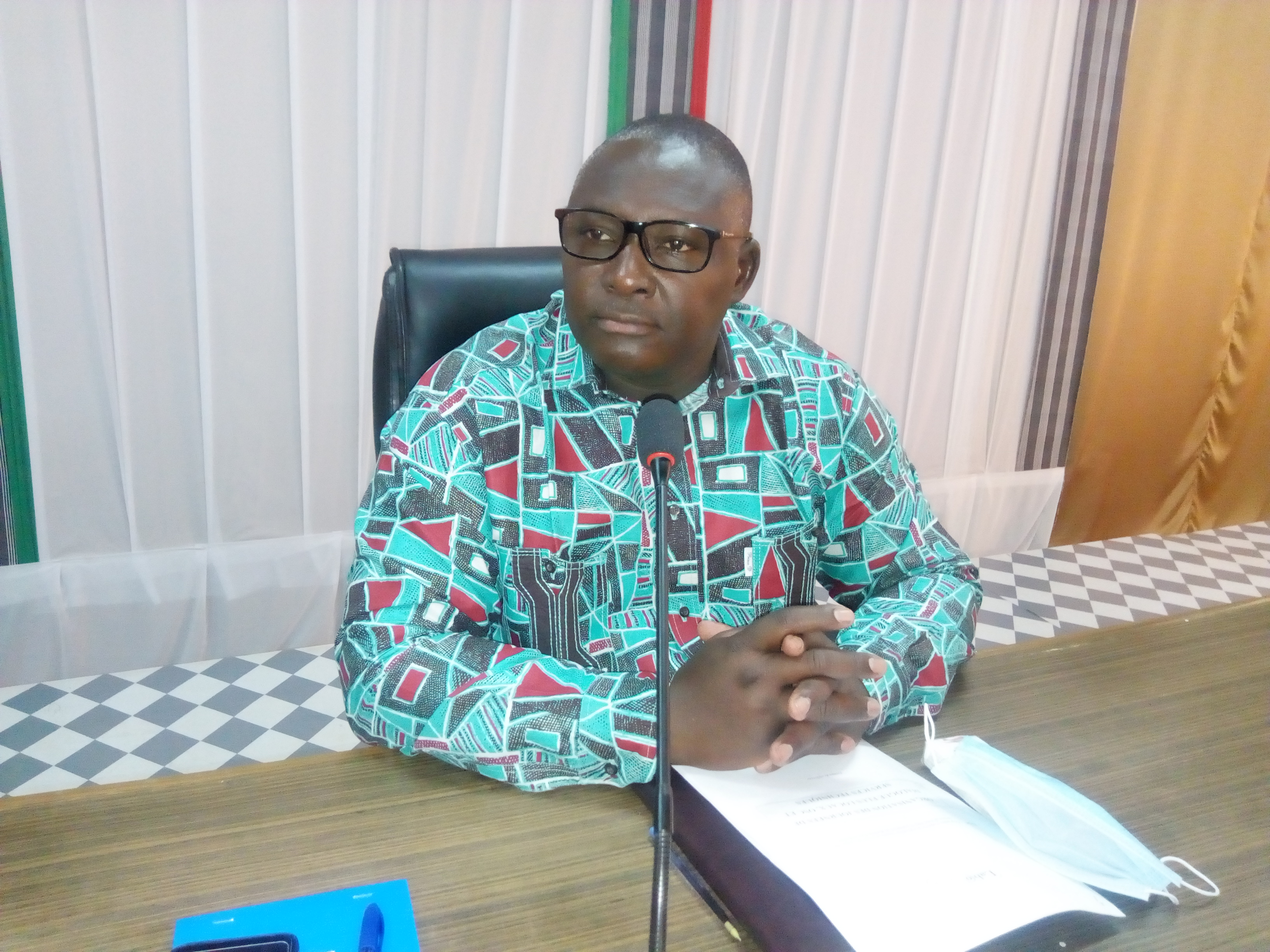 Le maire de Koudougou, Maurice Mocktar Zongo.
