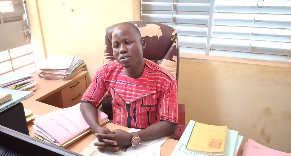 « Seul le travail paie. C'est mon engagement », dixit M. Ouédraogo.