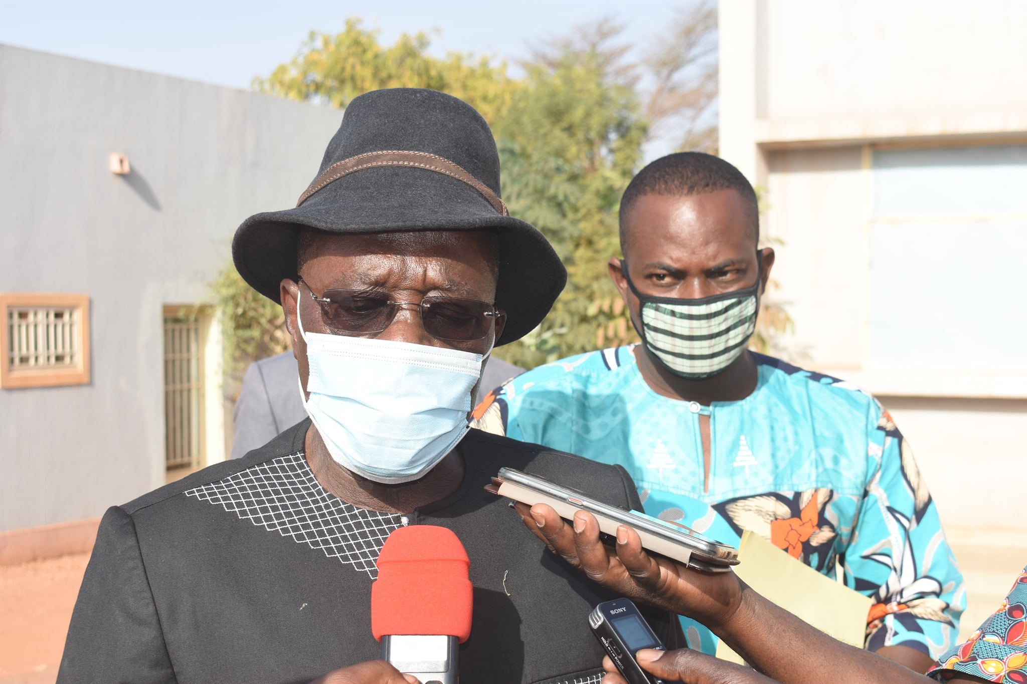 Basile Boureima Ouédraogo, maire de Ouahigouya.